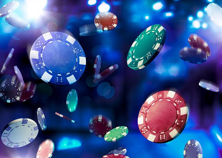 Ballotin de jetons de casino